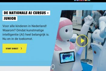 Weet jij al wat AI is? Doe de nationale AI cursus junior